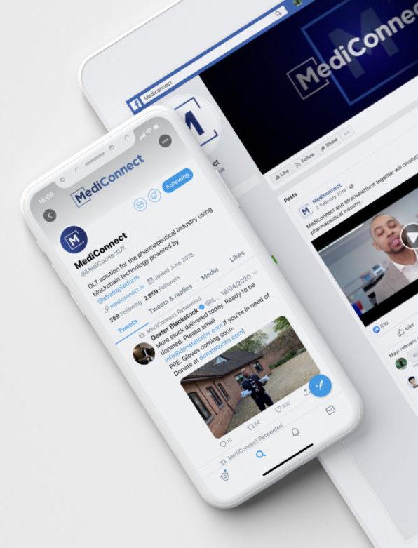 MediConnect Social Media
