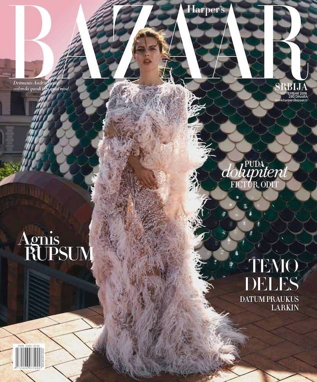 Harper's Bazaar Serbia cover September
