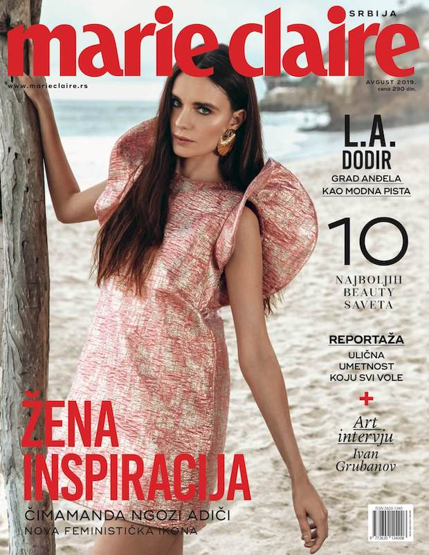 Marie Claire Serbia cover August