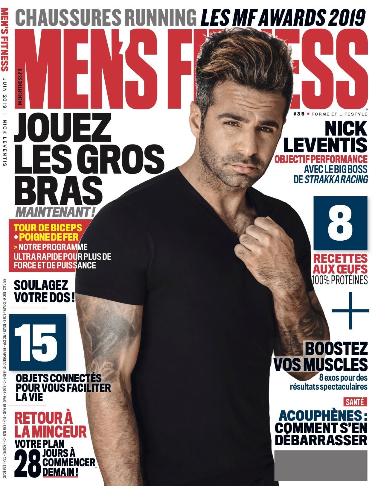 Mens's Fitness cover June