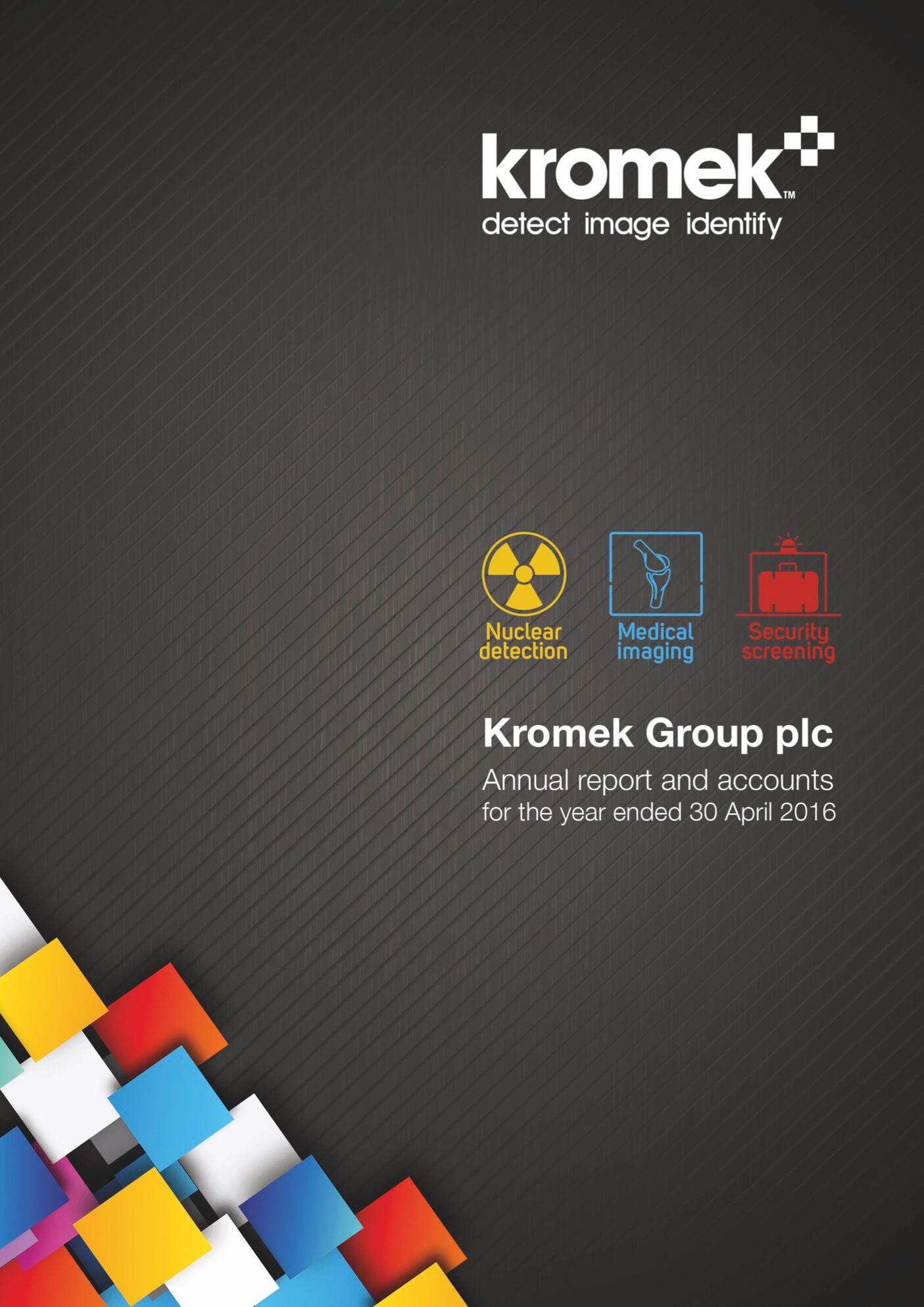 Kromer report cover