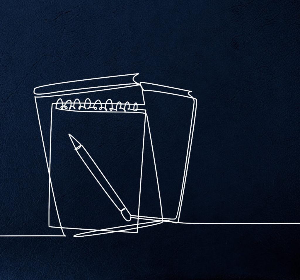 notepad contours